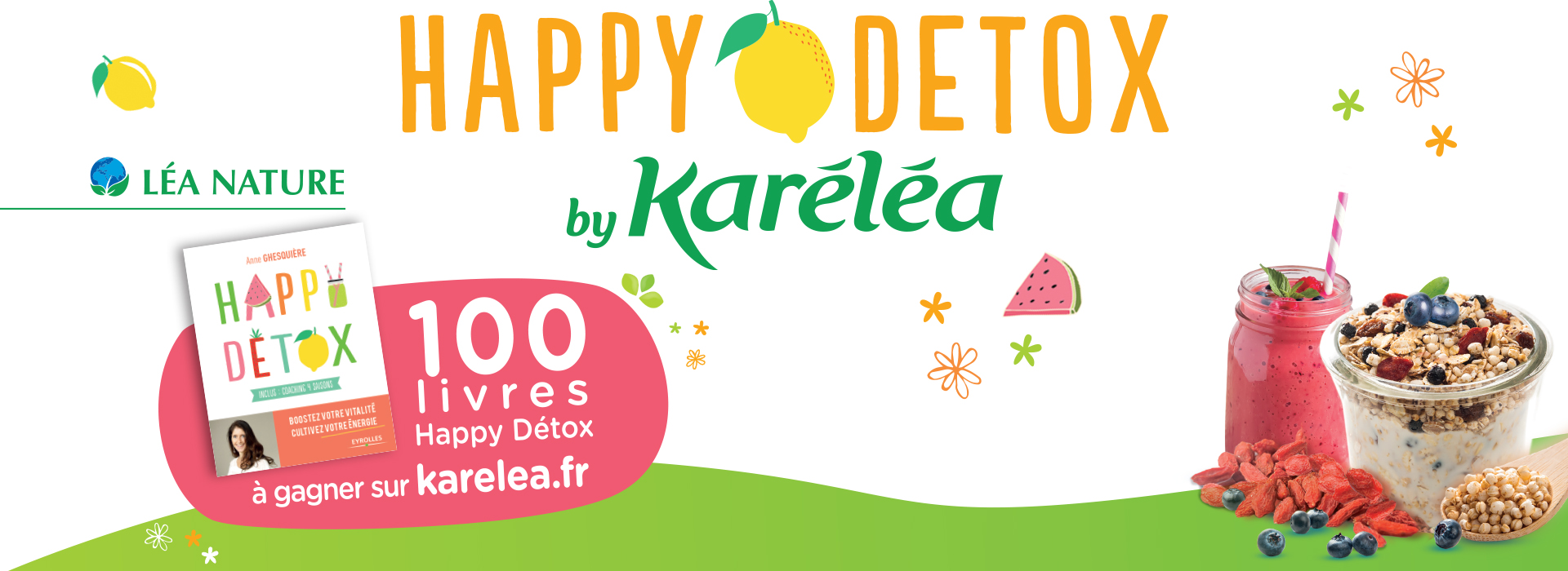 Grand jeu Happy Detox by Karéléa
