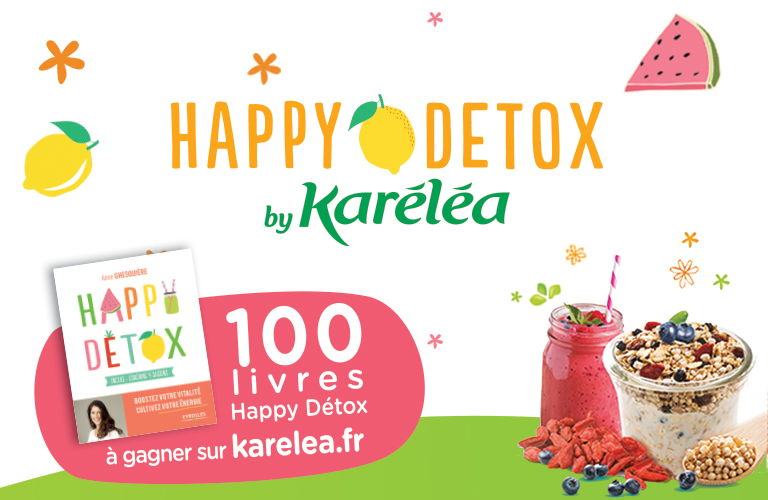 Jeu Happy detox Karelea