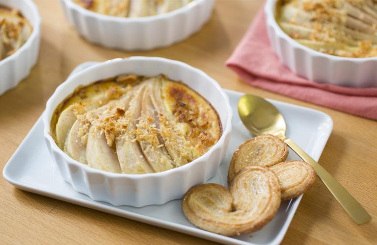 recette karéléa avec les biscuits palmiers dorés