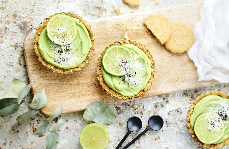 Recette de tartelettes avocat et citron vert Karéléa