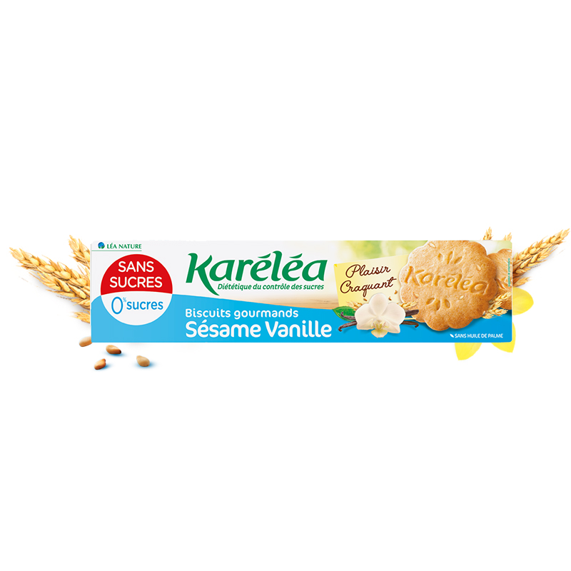 Gateau a la vanille sans sucre