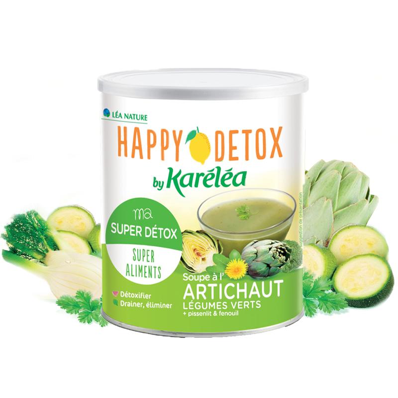 Karéléa - Soupe Détox Artichaut /Légumes verts / Pissenlit